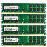 16GB 4x4GB PC2-6400 DDR2-800MHz Non-Ecc 240Pin DIMM AMD CPU Desktop Memory