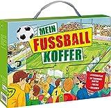 Mein Fußball-Koffer: Stickeratlas - 30 Trainingskarten - Poster - Malbuch