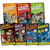 The Diamond Brothers Detective Agency Collection Anthony Horowitz 7 Books Set (French Confection, Blurred Man, I Know What You Did Last Wednesday, Greek Who Stole Christmas, Public Enemy Number Two, South by South East, In Falcon's Malteser) Anthony Horo