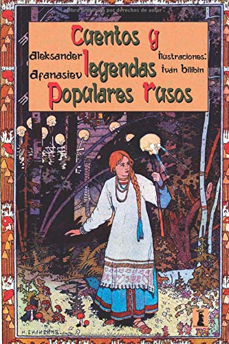 Cuentos y Leyendas Populares Rusos Edición Juvenil Ilustrada  [Afanasiev, Aleksander] (Tapa Blanda)