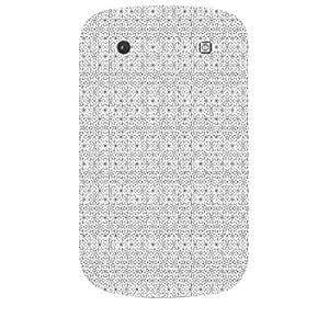 Skin4gadgets BLACK & WHITE PATTERN 19 Phone Skin for BOLT 9900