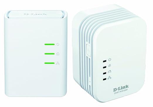 D-Link DHP-W311AV/E Kit de 2 adaptateurs CPL 500mbps dont 1 WiFi N 300 Ethernet WiFi Blanc