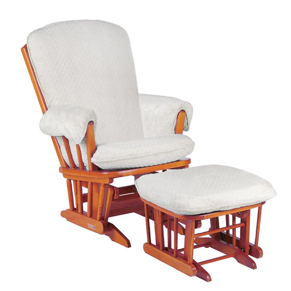 Luxe Basics Cover Me Glider Stuhl, weiß Dot günstig