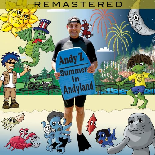 summer in andyland audio cd andy z