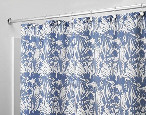 mDesign Batik Tenda Doccia in Tessuto Strutturato, 180 x 180 cm - Blu