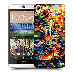 Snoogg Abstract Colorful Paint Designer Protective Back Case Cover For HTC DESIRE 826 DUAL SIM