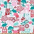 Michael Miller Forest Life Aqua Fabric