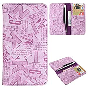 DooDa PU Leather Case Cover With Card Slots For Intex Aqua Life 3