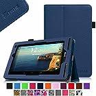 Verizon Ellipsis 7 Case - Fintie Slim Fit Premium Vegan Leather Cover for Verizon Ellipsis 7 4G LTE Tablet, Navy