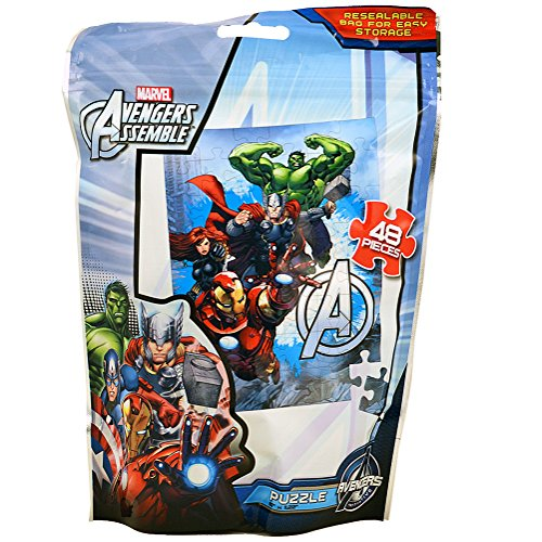 Marvel Avengers Assemble [48 Pieces - Resealable Bag] - 1