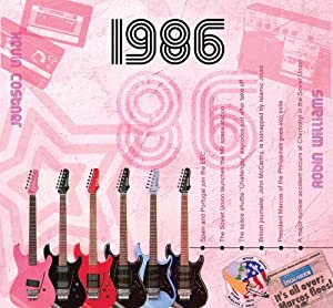 1986 The Classic Years 20 Track CD Greetings Card