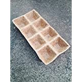 GreenAge Coco Fiber Natural Coir Tray For Seed Germinating- Eco- Friendly Products- 4 Pcs