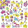 Princess Foam Stickers (Pack of 120)