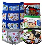 Disney Junior Boys Toddler 7 Pack Briefs for boys