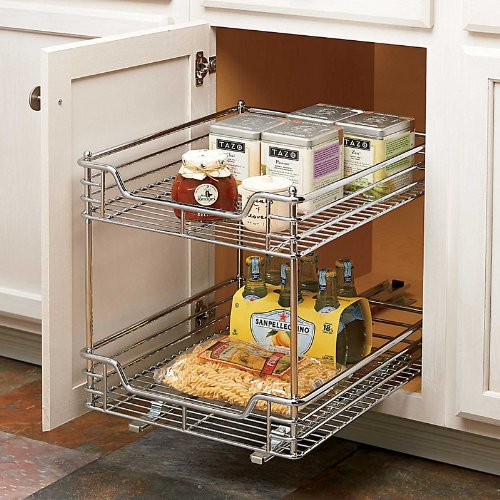 2-Tier Slide-Out Organizer 11-1/2