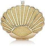 MG Collection Carmen Seashell Evening Clutch