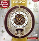 Seiko Melodies in Motion Musical Wall Clock with 18 Melodies
