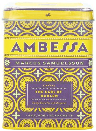 Harney & Sons Ambessa The Earl Of Harlem Tea, 20 Tea Sachets