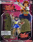 Street Fighter Microman Micro Action Series 4 Inch Action Figure - SAKURA with Figure Stand