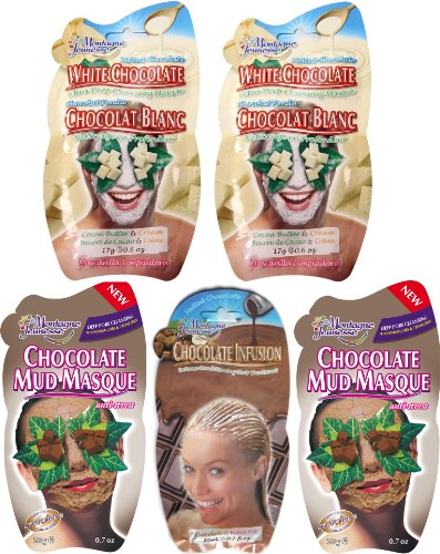 Montagne Jeunesse Chocolatey Face and Hair Masque