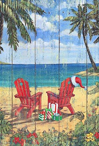 Toland-Home-Garden-Christmas-Paradise-Decorative-Adirondack-Island-Vacation-Holiday-Garden-Flag