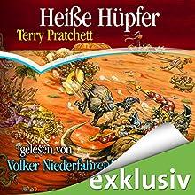 Heiße Hüpfer: Ein Scheibenwelt-Roman Hörbuch von Terry Pratchett Gesprochen von: Volker Niederfahrenhorst