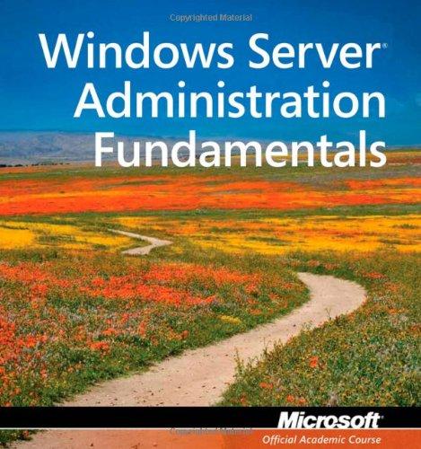 Exam 98-365: MTA Windows Server Administration Fundamentals