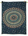 Mandala Printed Indian Wall Tapestry...