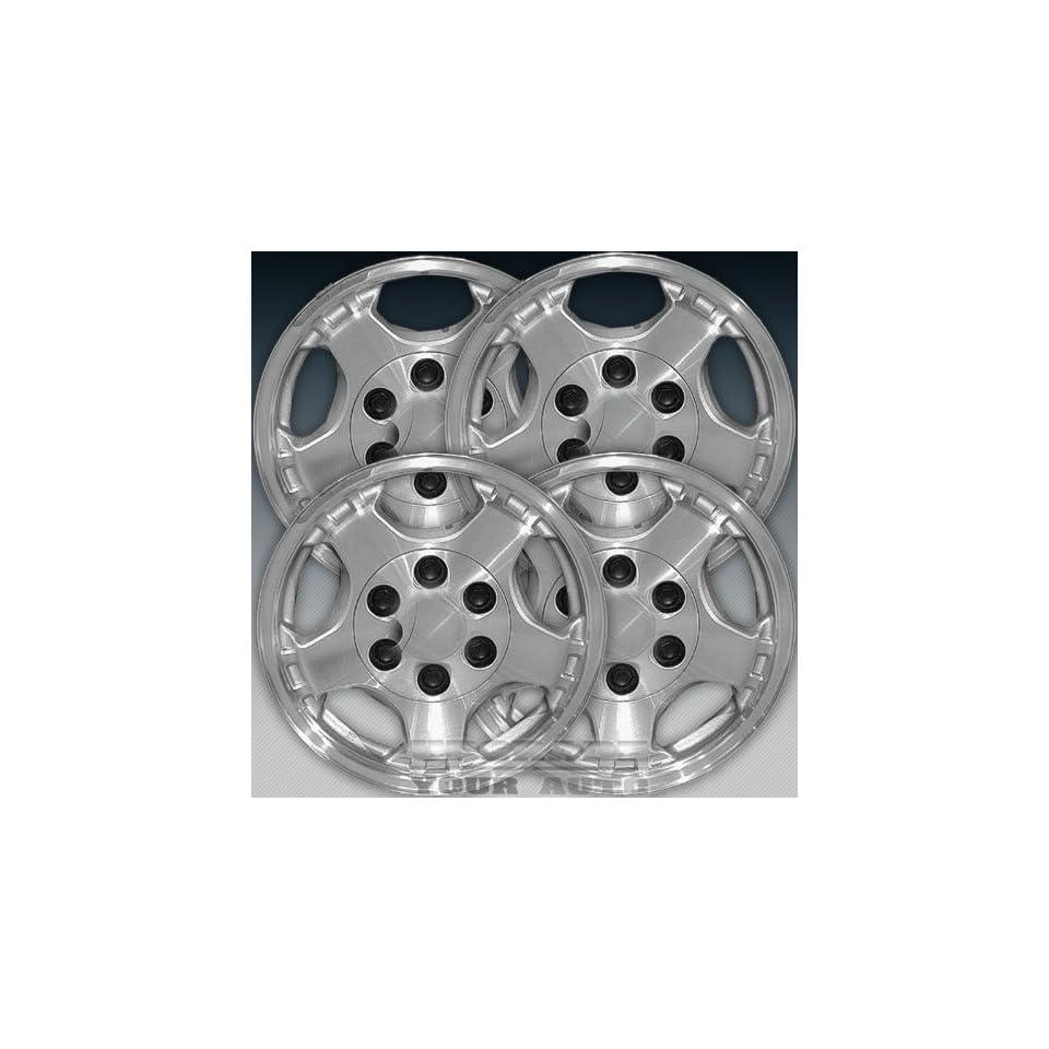 1999 2002 Chevy Silverado 16X7 Factory Replacement Sparkle Silver Wheel Set of 4