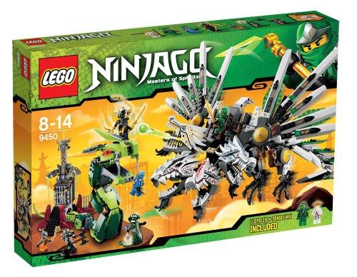 LEGO® NINJAGO® Epic Dragon Battle w/ 7 Minifigures & Accessories   9450 (Seven Headed Dragon compare prices)