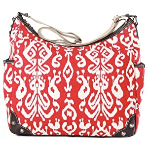 OiOi Baby Ikate Hobo Diaper Bag