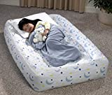 AeroBed Kids Air Bed - Fleece Cover and Pump INCLUDED!