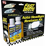 Fast Brite Headlight Restorer - As Seen On TV-FAST BRITE LENS RESTORE