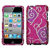 MYBAT Unique Diamante Protective Case for iPod touch 4 (Tattoo Butterfly)