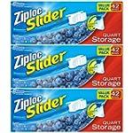 Ziploc Slider Storage Bags Quart Valu...