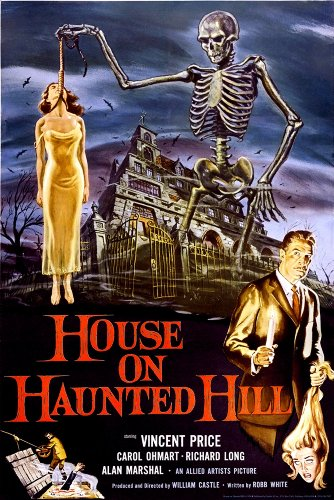 Studio B House On Haunted Hill Vincent Price Poster