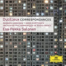 Dutilleux: Correspondances [+digital booklet]