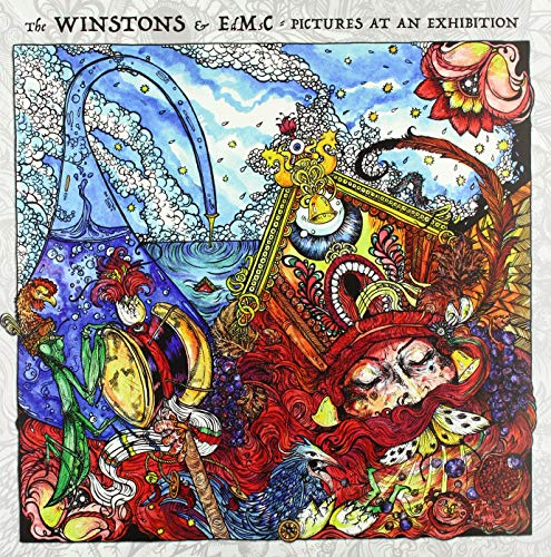 Vinilo : WINSTONS & EDMSC - Pictures At An Exhibition (Italy - Import)