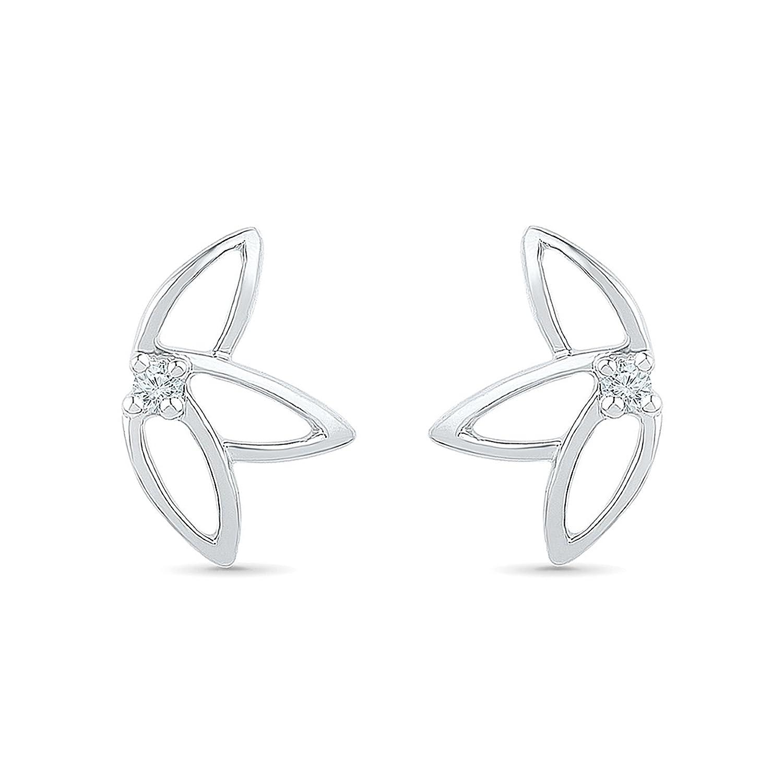 Radiant Bay Spring Wonder 925 Sterling Silver Stud Earrings: Amazon:  Jewellery