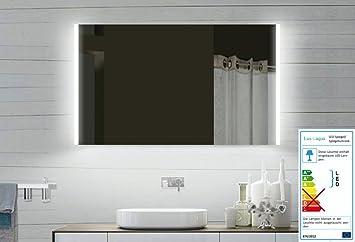 Top LED specchio del bagno specchio luce 100 centimetri