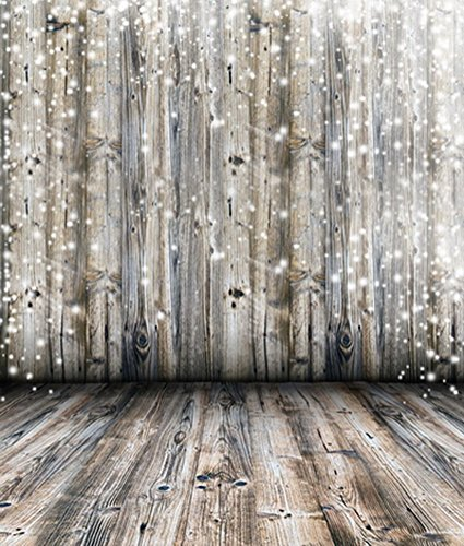 Yelewen 5x7ft Bokeh Planks Wood Floor Newborns & Children Thin Vinyl Customized Digital Printed Photography Backdrop Prop Photo Background (Photography Props For Kids compare prices)