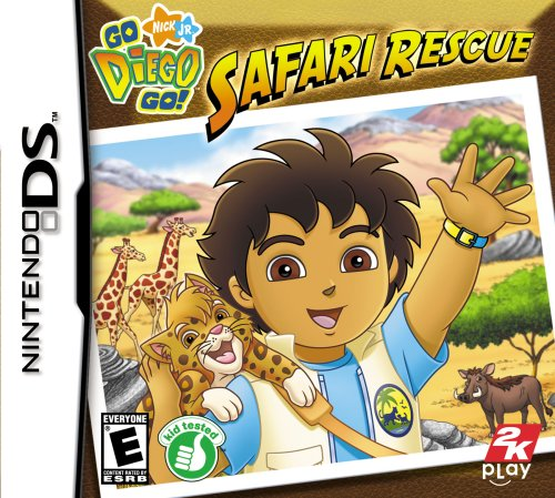 Go Diego Go: Safari Rescue - Nintendo DS - 1