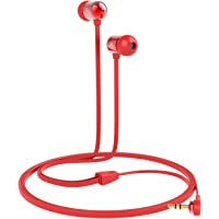 Betron B750s In Ear Noise Isolating Earphones Headphones (Red)