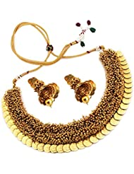 Sthrielite Traditional Antique Necklace Set