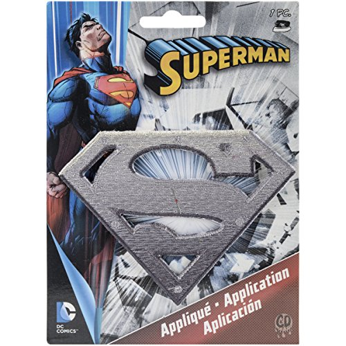 Application DC Comics Superman Metal Logo Patch - 1