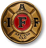 IAFF Hiking Stick Medallion