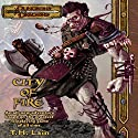 City of Fire: A Dungeons & Dragons Novel Audiobook by T. H. Lain Narrated by Dolph Amick
