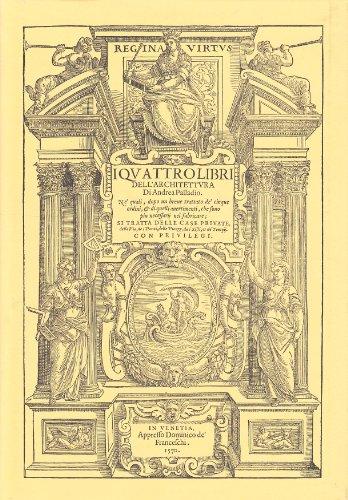 I quattro libri dell 39 architettura hoepli andrea palladio for Libri sull architettura