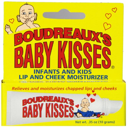 Boudreaux's Baby Kisses Lip & Cheek Moisturizer, 0.35 Ounce (Pack of 6)