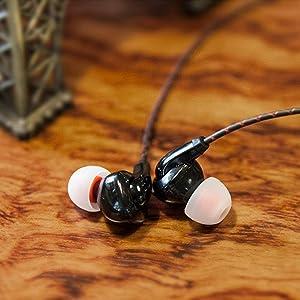 FiiO F3 Dynamic Graphene Driver In-Ear Monitor Earphones with Mic